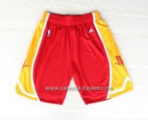pantaloncini nba Houston Rockets Retro rosso