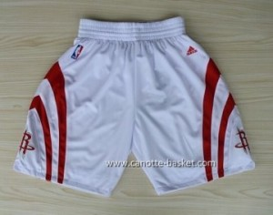 pantaloncini nba Houston Rockets bianco