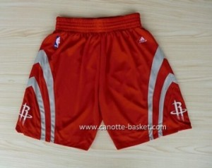 pantaloncini nba Houston Rockets rosso
