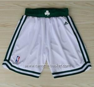 pantaloncini nba Boston Celtics bianco