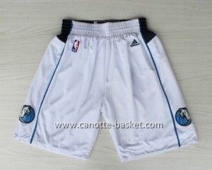 pantaloncini nba Dallas Mavericks bianco