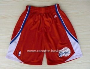 pantaloncini nba Los Angeles Clippers rosso