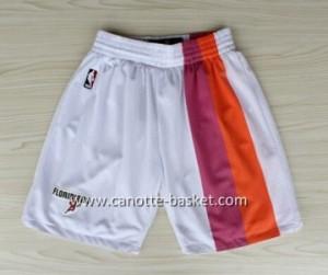 pantaloncini nba Miami Heat bianco