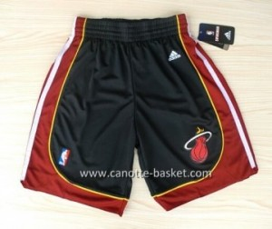 pantaloncini nba Miami Heat nuovi tessuti nero