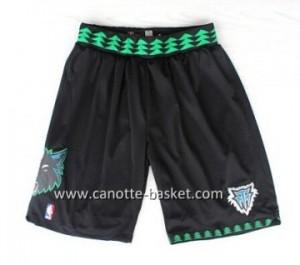 pantaloncini nba Minnesota Timberwolves Retro nero