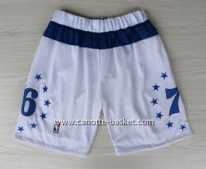 pantaloncini nba Philadelphia 76ers star bianco