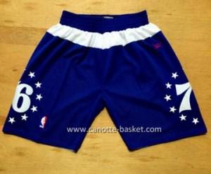 pantaloncini nba Philadelphia 76ers star blu