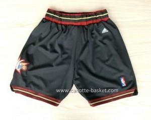 pantaloncini nba Philadelphia 76ers nero 10 Anniversario