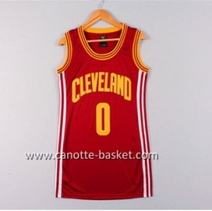 Maglie nba Donna Cleveland Cavaliers Kevin Love #0 rosso